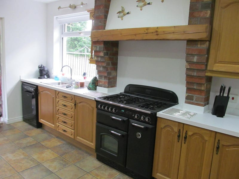 Natural Oak Kitchen Refurb